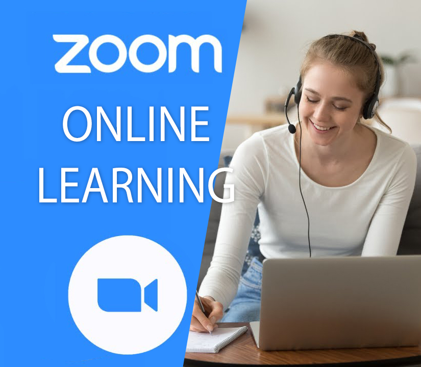 Blue-Zoom-Logo-With-Young-Female-Smiling-Enjoying-Her-Online-Class