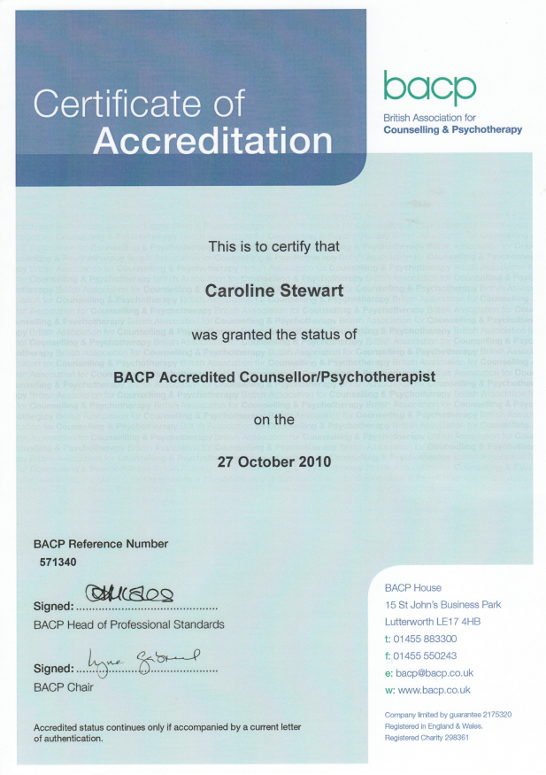 Certificate-BACP